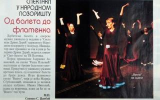 Spektakl u Narodnom pozorištu